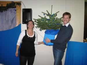 Adventsfeier 2012 - AVD-Weihnachtsbaum